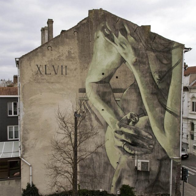 Faith XLVII Mural UN-DERSTAND URBAN NATION