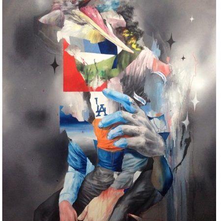 Artist Joram Roukes
