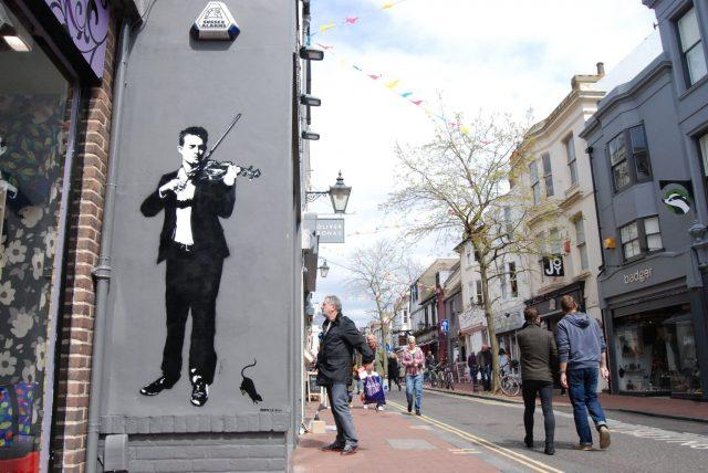 Blak le Rat Violin Brighton
